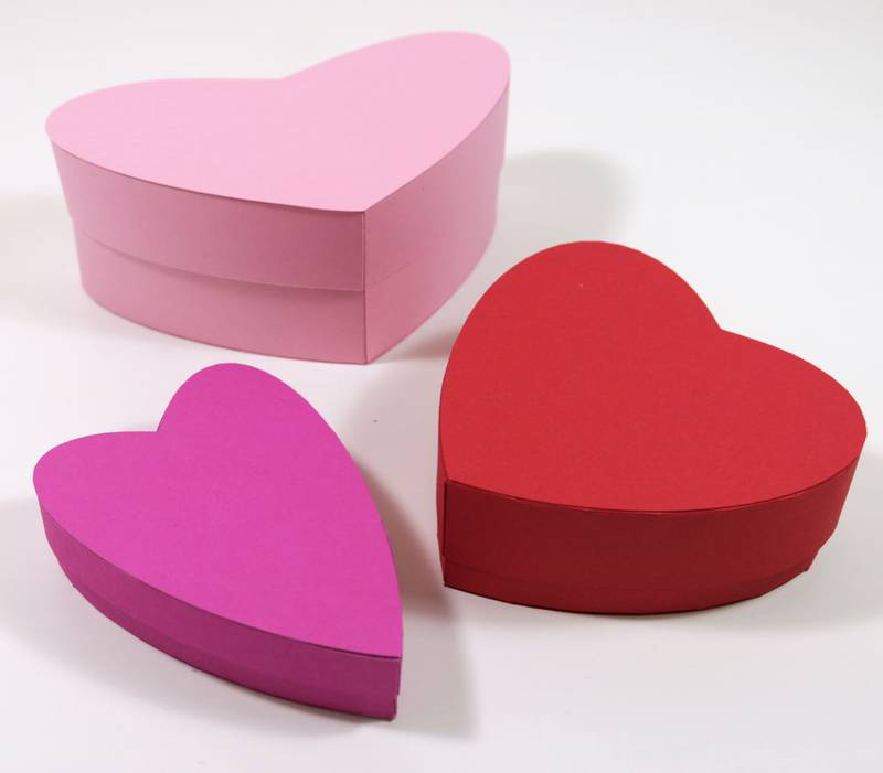 Example of Heart Shaped Box