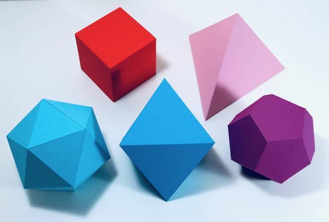 Example of The Platonic Solids