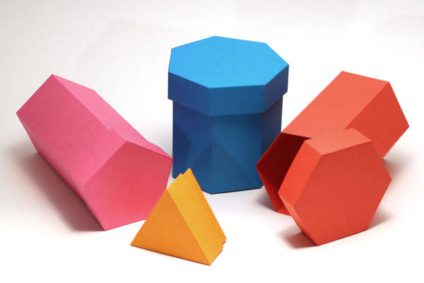 Example of Polygonal Shaped Box with Lid