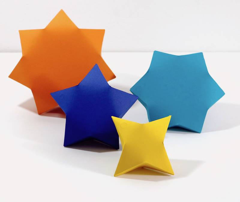 Example of Star Shaped Box